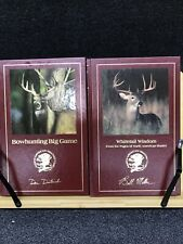 2 Northern American Hunting Club Books Whitetail Wisdom Big Game Bowhunting