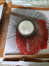 MIRROR - Sunburst mirror.