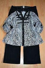 WOMENS PLUS SIZE CLOTHING Lot Of 3 Sz 18/20W Corduroy Pants Blouse/Top Necklace
