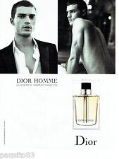 PUBLICITE ADVERTISING 026  2005  Dior parfum homme avec Jude Law