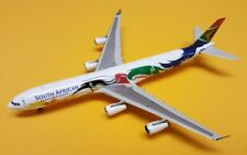 Phoenix Models 1:400 South African A340-300 2012 Olympics Livery ZS-SXD Gemini