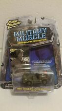 JOHNNY LIGHTNING MILITARY MUSCLE WWII DODGE WC-57 COMMAND CAR 1:64 SCALE 2003