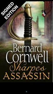 Bernard Cornwell Signed Sharpe's Assassin Signed 1st Edition  Pre Order