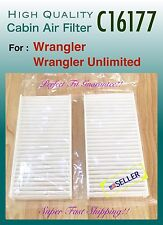 for 2011-2016 Jeep Wrangler & Wrangler Unlimited CABIN AIR FILTER C16177 A+++
