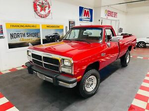 1992 Dodge Ram W250 Le 4x4 5 9 Cummins One Owner W 118 655 Original Miles For Sale Dodge Other Pickups Le 1992 For Sale In Dover Minnesota United States
