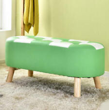 Unbranded Leather Green Benches & Stools