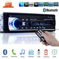 Hot 1 Din Car Radio Bluetooth Stereo Player MP3/USB/SD/FM In-dash Head Unit