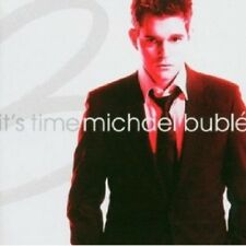 MICHAEL BUBLE - IT'S TIME  CD  15 TRACKS AMERICAN VOCAL JAZZ  NEU