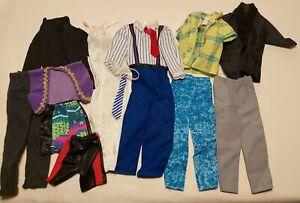 Mattel Barbie Vintage 80s & 90s Ken Doll Clothes Lot  H82