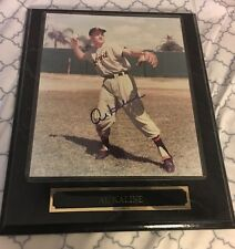 AL KALINE AUTOGRAPHED SIGNED FRAMED 8 X 10 PHOTO PLAQUE DETROIT TIGERS