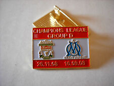 a1 O. MARSEILLE - REDS cup uefa champions league 2009 spilla football pin