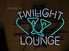 "New Twlight Lounge Beer Lamp Light Neon Sign 24""x20"""