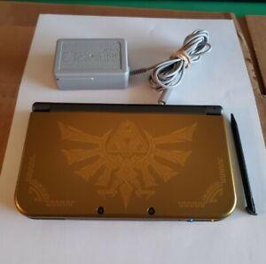 New Nintendo 3DS XL Hyrule Edition Dual IPS Screen Legend of Zelda Gold 4GB