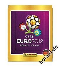 Panini Euro EM 2012 Sticker 1 Display / 100 Tüten Panini DEUTSCHE VERSION