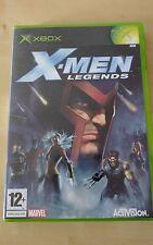 X-MEN LEGENDS XBOX JEU COMPLET avec boîte et instructions. Marvel