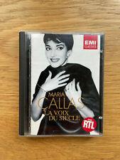 Minidisc Maria Callas Les voix du siècle album music