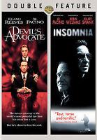 Devils Advocate/Insomnia (DVD, 2008) Al Pacino suspense thriller 2 disc movie se