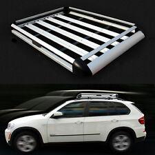 Aluminum Alloy Roof Box Travel Luggage Roof Tray Rack Roof Rack Luggage Basket