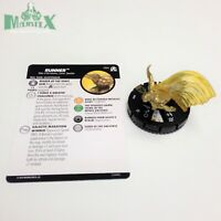 Heroclix Avengers: Black Panther & Illuminati set Runner #066 Super Rare w/card!