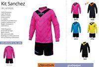 Completo Calcio da Portiere KIT SANCHEZ GIVOVA con IMBOTTITURA,5 Colori a scelta