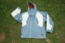 Oakley blue software winter ski snowboard jacket hooded coat women's medium
