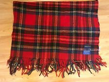"PENDLETON 100% VIRGIN WOOL THROW PORTLAND, OREGON 70""L X  52""W"