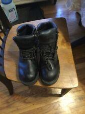 Dexter Men's Steel Toe Work Boots Black 11W Oil Resistant Soles