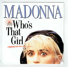 "MADONNA Vinyl 45 tours 7"" WHO'S THAT GIRL Film WHITE HEAT - SIRE 928341 F Réduit"