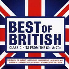 Best of British  Classic tracks from 60's / 70's     CD    (Brand New)