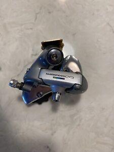 Shimano 600 Tricolor Ultegra RD-6400 Rear Derailleur Bianchi Merckx Cinelli
