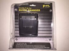 NEW Chicago Electric 18-Volt Ni-Cd Quick 1 Hour Charger 68859 Power Tools