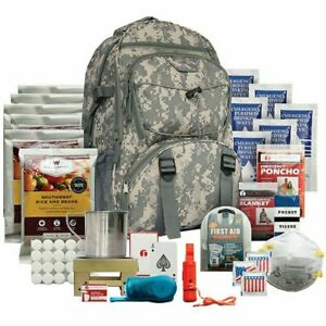 5 Day Prep Kit Outdoor Emergency Survival Bug Out Bag Water Food First Aid Camo