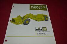 Terex TS-18 Scraper Pan Dealer's Brochure DCPA6 ver2