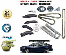 FOR BMW 5 GRAN TURISMO 535D 299BHP 2010--> UPPER + LOWER TIMING CHAIN KIT SET