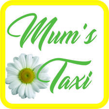 Mum's Taxi Sticker Vinyl Baby on board sign for car van Waterproof UV proof V2