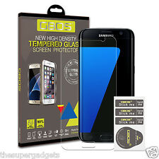GBOS® 100% Genuine Tempered Glass Screen Protector For Samsung Galaxy S7 Edge