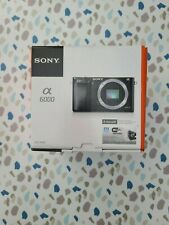 Brand New Sony Alpha A6000 Mirrorless Digital Camera ILCE6000/B (Body Only)