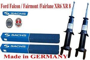 2 Front Gas SACHS Ford Falcon BA Shock Absorbers Sedan Wagon Ute 2003-2006