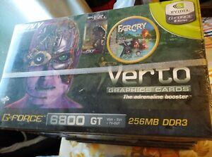 Carte graphique AGP 8x Geforce 6800GT PNY Verto 256mb Neuve