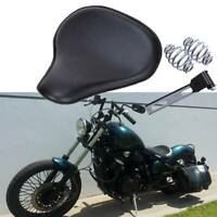 For Honda Shadow VLX 600 VT 600 Bobber Motorcycle Solo Seat Spring Saddle Black