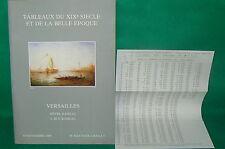 catalogue vente enchères VERSAILLES Tableaux modernes + liste prix de vente (16)