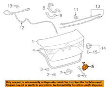 TOYOTA OEM 12-16 Camry Trunk-Lock or Actuator Latch Release 6460006041