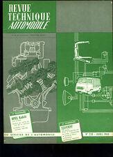 (C14) REVUE TECHNIQUE AUTOMOBILE OPEL KADETT / CITROEN 2CV
