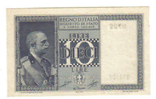 10 LIRE IMPERO 1944 Q.FDS/FDS LOTTO 1360