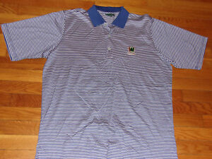 NEW FAIRWAY & GREENE PINE VALLEY SHORT SLEEVE GOLF POLO SHIRT MENS LARGE