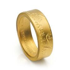 "1/2 oz Gold Eagle Coin Ring 22K - Satin Finish ""Heads"" - Size 5-12 - Random Date"