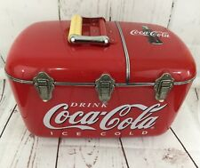 COCA COLA Coolbox Cooler AM-FM Radio & CD Player