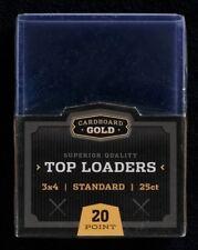 300 CBG Hard Plastic Baseball Trading Card Topload Holder protector 25ct Packs