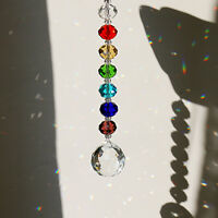 Handmade Crystal Rainbow Suncatcher Ball Prisms Hanging Window Home Decor Gifts