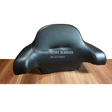 Wrap Around Passenger Backrest Pad For 2014 Later Harley Chopped King Tour Pack